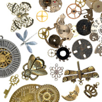 Steampunk supplies for Michaels crafts jewelry supplies